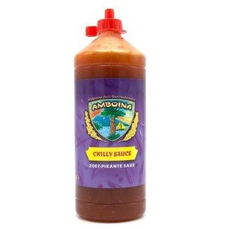 Amboina Chilly sauce 1000ml (Zoet-pikante saus)