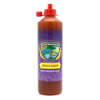 Amboina Chilly sauce (Zoet-pikante saus) 500ml