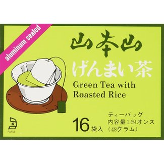 Genmai Cha tea bag 16 pcs (48g) YamaMotoYama