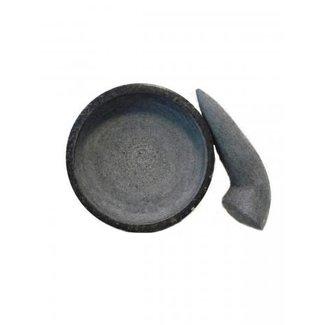 Tjobek ⌀ 18 cm graniet - gepolijst
