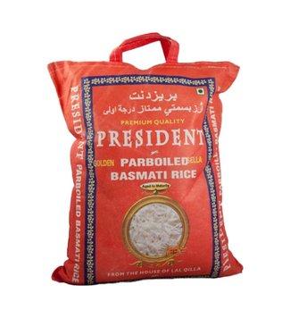 Parboiled basmati golden sella 5kg president