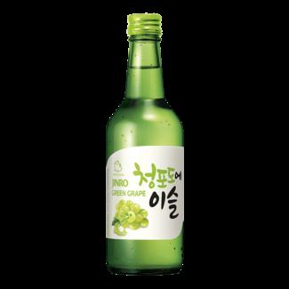 jinro green grape soju 13% - 360ml