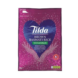 tilda brown basmati rice 5 kg