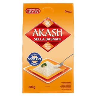 Akash Sella Basmati Rice 20 kg