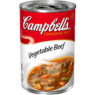 campbell's vegetable beef soup 298g