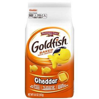 Pepperidge Farm goldfish cheddar Crackers 6.6 oz - 187g