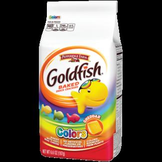 Pepperidge Farm goldfish colors cheddar 6.6 oz - 187g