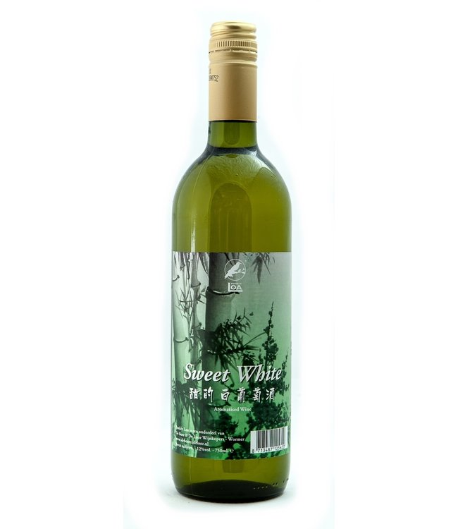 Sweet White Wine 750ml, 12% - Ponkiy Loa