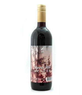 Sweet Red Wine 750ml, 12% - Ponkiy Loa