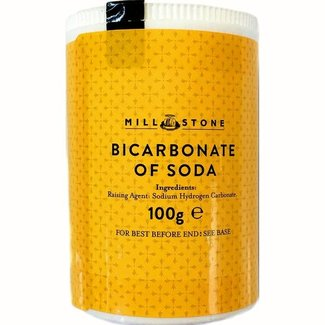 BiCarbonate or Soda 100g Mill Stone