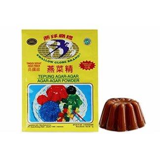 Agar-Agar Kleur Chocolade 7gr Swallow