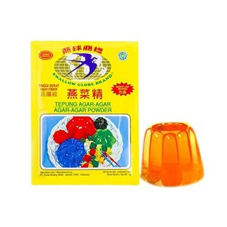 Agar-Agar oranje 7 gram Swallow