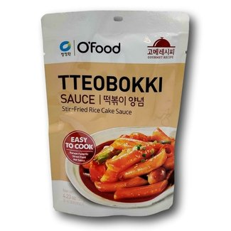 tteobokki Rice Cake sauce 120g O'food