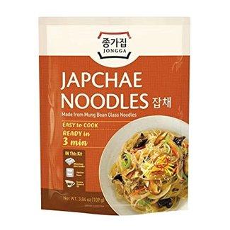 japchae noodles 109g jongga