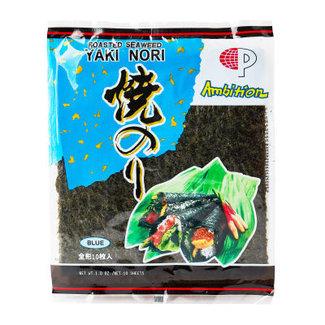 Yaki Nori Seaweed Blue 10 sheets - Ambition