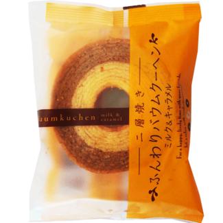 Baumkuchen Milk & caramel 65g Taiyo Fluffy