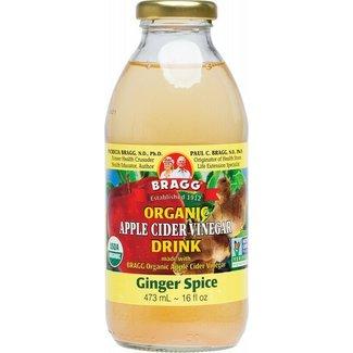 bragg ginger spice apple cider vinegar 473ml