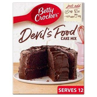 Devils Food cake mix 425 gram - Betty Crocker