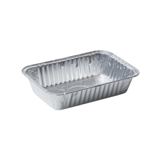 Aluminum Containers 25 pcs - 850G without lid