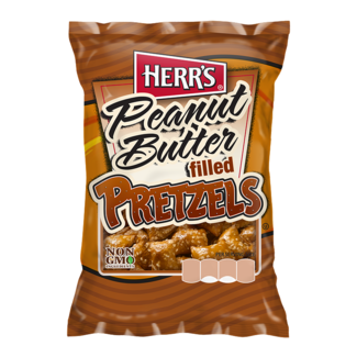 herr's peanut butter filled pretzels 2 oz - 56.7g