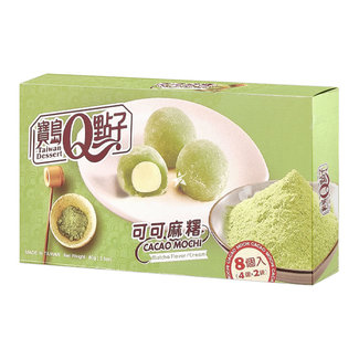 cacao mochi matcha flavor cream 8 stuks - 80g Q