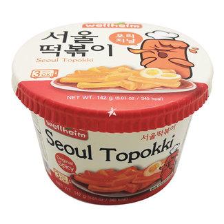 Topokki Original Spicy 142g  Wellheim Seoul