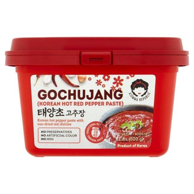 Gochujang Hot Red Pepper Paste 500g Ajumma Republic
