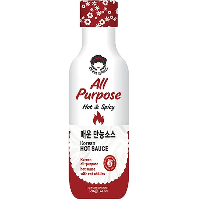 Korean Hot Sauce 330g Ajumma Republic