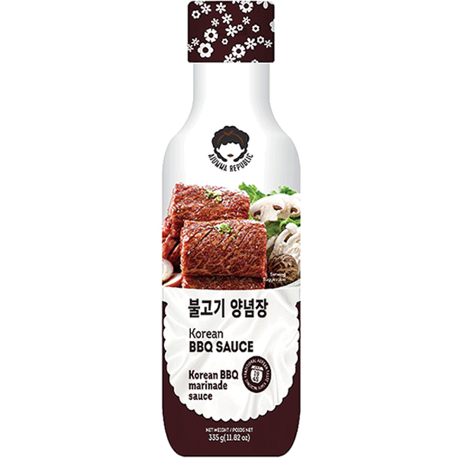 Korean BBQ Sauce 335g Ajumma Republic