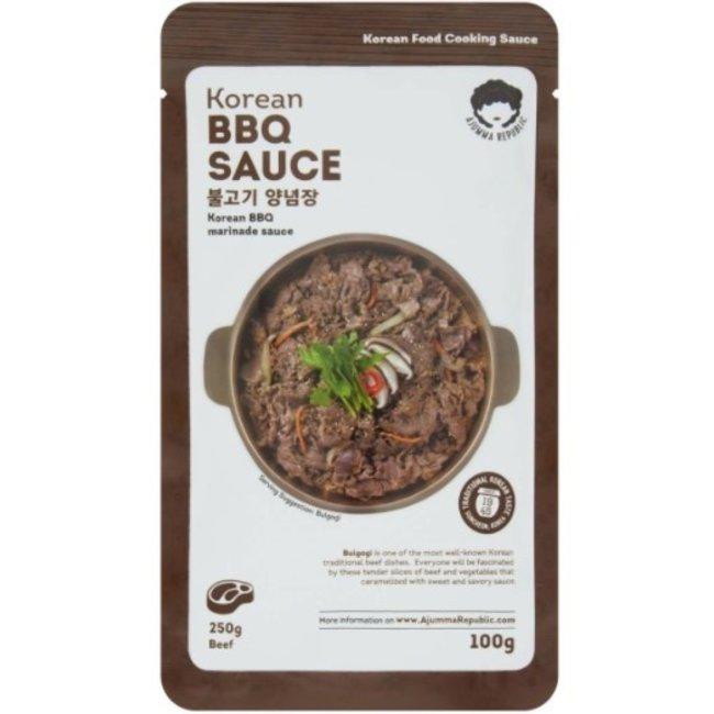 Korean BBQ Sauce Sachet 100g Ajumma Republic