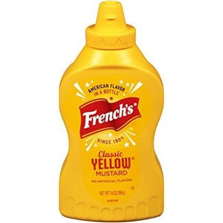french's classic yellow mustard 14oz - 396g