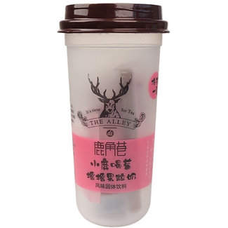 LJX Solid Drink Strawberry milk fruit tea - the alley
