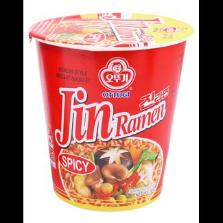 jin ramen spicy cup 65g ottogi