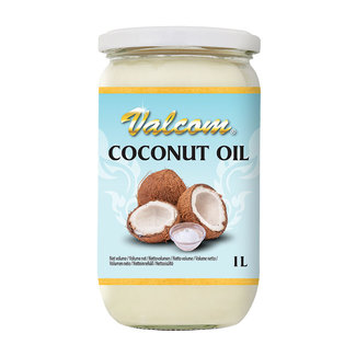 pure coconut oil 1 ltr valcom
