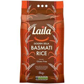 laila Golden Sella Basmati Rijst 5 kg