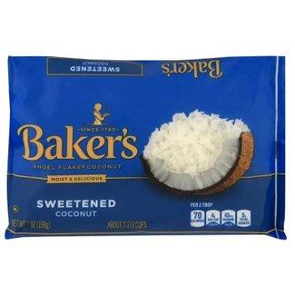 baker's angel flake coconut 7oz (198g)
