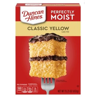 Duncan Hines Duncan Hines Classic Yellow Cake Mix 432g