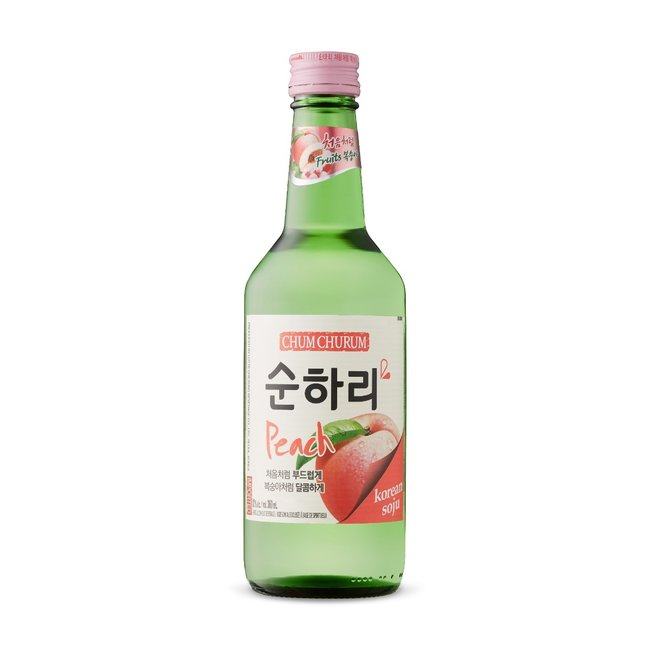 Chum Churum Peach Soju 12% - 360ml Soonhari