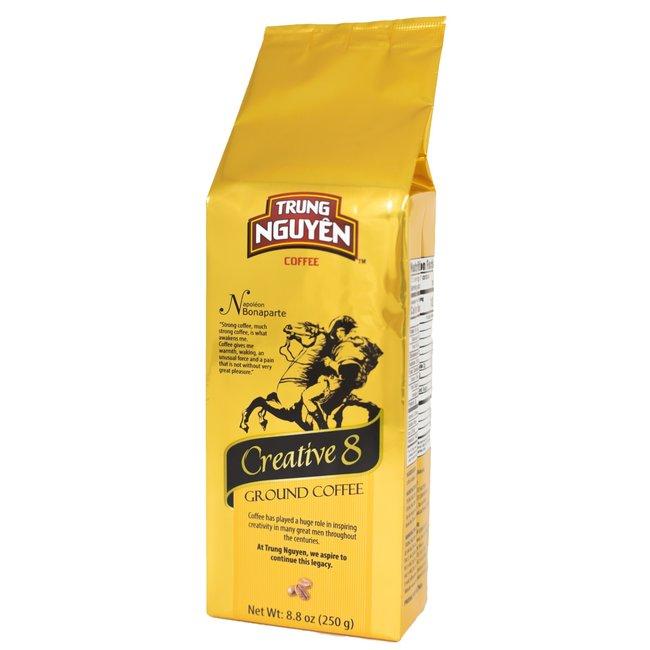 Trung Nguyen Creative 8 - 250g Ground Coffee