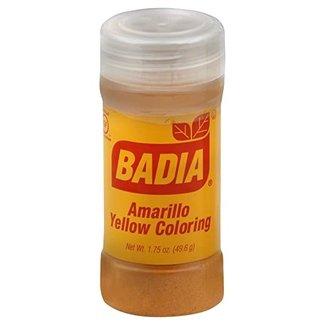 Badia Amarillo Yellow Coloring (49,6g)