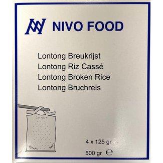 Lontong Broken 4x125g Nivo Food