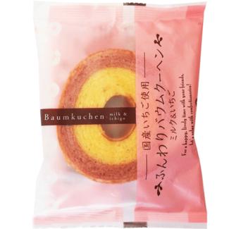 Baumkuchen Strawberry 75g Taiyo Fluffy