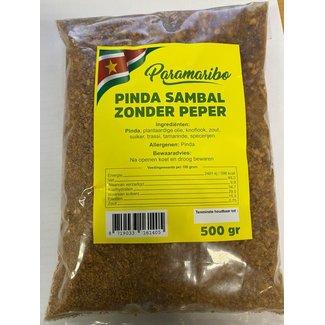 paramaribo peanut sambal without pepper 500g