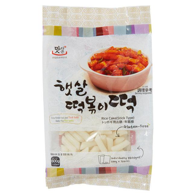 matamun rice cake stick 200g x 3 packs (600g)