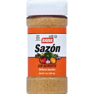 badia sazon without annatto 7oz - 198.4g