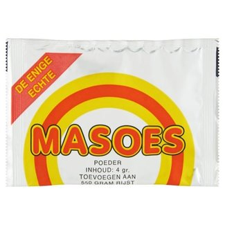 Masoes gele rijst poeder 4 gram - zakje