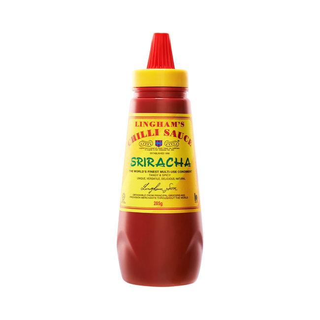 lingham's sriracha chilli sauce 308g