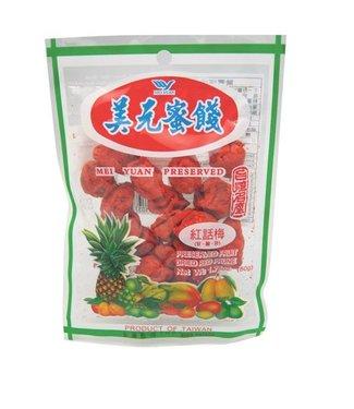 Dried Red Prune Mei Yuan 50gr