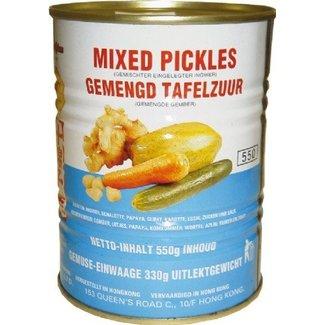 Mee Chun Mixed Pickles 550gr  Mee Chun - Blik