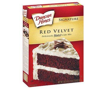 Duncan Hines Duncan Hines Red Velvet Cake mix